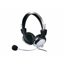 Fone De Ouvido Headset Com Microfone Headphone P2 Lan House