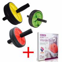Emagrecedor Seca Barriga Wonder Patch + Roda De Exercícios