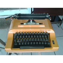 (only Wood) Maquina De Escrever Remington 12 Na Maleta Orig