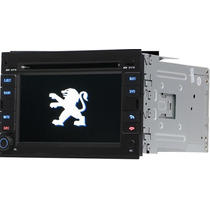 Central Multimidia Peugeot 307 3008 Tv Dvd Gps Frete Gratis
