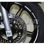 Friso Adesivo Refletivo Rec03 Roda Moto Yamaha Fazer 250
