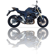 Escapamento Esportivo Gsr750 Ixil X55 Black Bombachini Motos