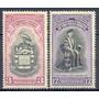 Selos Montserrat,série Uni. Das Indias Ocidentais,1951 Novo.
