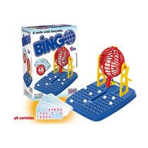 Bingo Jogo Divertido 48 Cartelas Globo Com Numeros