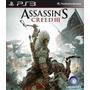 Assassins Creed 3 Iii - Ps3 - Psn - Em Inglês - Promoção !!