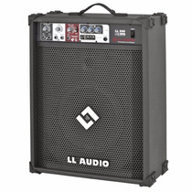 Caixa Amplificada Ll Ll 200 Usb Cubo Guitarra Violão Mic 50w