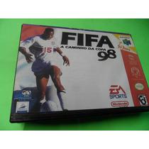 Fifa 98 A Caminho Da Copa Original Com Caixa Nintendo 64 N64