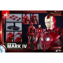 Iron Man Mark Iv 4 Hot Toys Mms338 Exclusive (no Brasil)