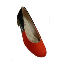 Lançamento Sapato Moleca 5264.101 Laranja Pto
