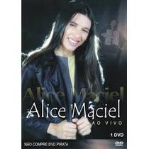 Dvd Alice Maciel - Ao Vivo.