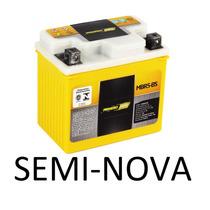 Bateria Moto Suzuki Burgman 125 Usada Seminova 12v 7ah