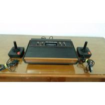 Atari 2600 +12 Jogos+2 Controles Em Ótimo Estado.