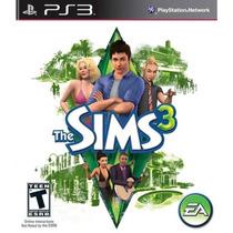 The Sims 3 Original Ps3 Novo Lacrado