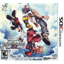 Jogo Novo Kingdom Hearts 3d Dream Drop Distance Nintendo 3ds