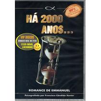 Há 2000 Anos De Chico Xavier Audio Livro 3 Cds 19 Horas Novo