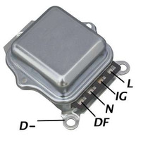 Regulador Voltagem Delco Gm Opala C10../74 D10 D70 Ik400 Hd
