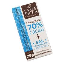 Chocolate 70% Cacau Orgânico Sem Glúten/lactose - Sal Rosa