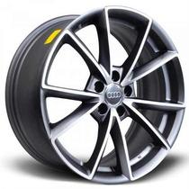 Jogo De Rodas Réplica Audi Rs4 19x8,5 Diamond Matte Graphite
