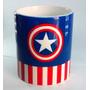Caneca Capitão América Personalizada