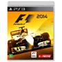 Jogo Novo Lacrado Fórmula 1 F1 2014 Para Playstation 3 Ps3