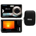Camera Digital Focus 12mp 2,4 8x Brinde Capa Cartão Leilao