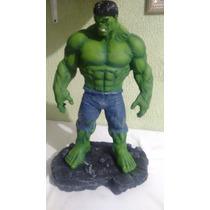 Estatua Em Resina Hulk 40 Centimetros Oferta !!!!!!!!!