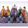 10 Mini Bonecos Dragon Ball Action Figures Goku Especial Ed