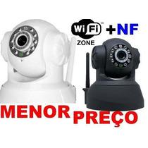 Camera Ip Sem Fio [ Topcam ] P2p Acesso Remoto Celular + Sd