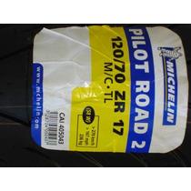 Pneu Michelin 120/70-17 - 2ct Pilot Road 2