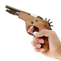 Arma De Brinquedo Disparador De Elástico!!!