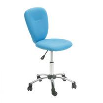 Cadeira Giratória Colorida Pezzi - Azul