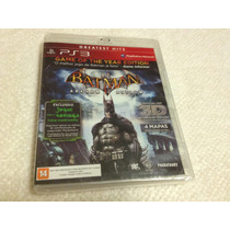Batman Arkham Asylum - Game Of The Year Edition (lacrado)
