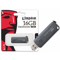 Pen Drive Kingston Datatraveler Dtse8 - 16gb - Usb 2.0 Gris