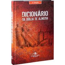 Dicionário Biblico Almeida Com 324 Pag+frete Gratuito