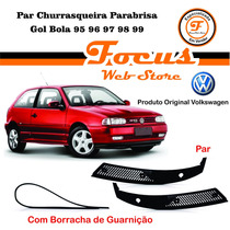 Par Grade Churrasqueira Parabrisa Gol Bola 95 96 97 98 99
