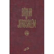 Bíblia De Jerusalém - Frete Grátis - Católica