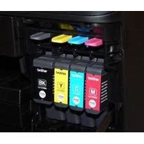 4 Cartuchos Novos Com Tinta Para Impressora Mfc J430w