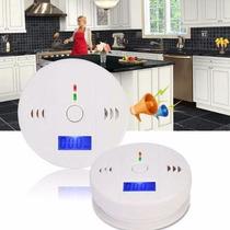 Sensor Alarme Detector De Gas Co Fotoelétrico Cozinha Casa