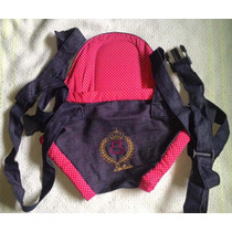 Canguru Cadeirinha Bebê Lipi Baby Bag Vermelho Até 15kg