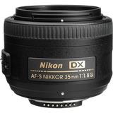 Lente Nikon 35mm F/1.8g Af-s Autofoco Parasol Garantia 1 Ano