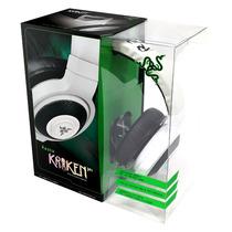 Headset Razer Kraken Pro Branco Com Microfone Stereo 2.0