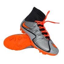 Chuteira De Campo Futebol Nike Mercurial Superfly Cano Longo