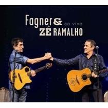 Cd Fagner & Zé Ramalho - Ao Vivo - Original