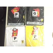 Vendo Camisetas Shell - Ferrari