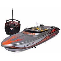Barco De Controle Remoto - Lancha Aqua Deluxe Dtc 3019
