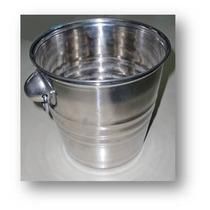 Balde De Bebidas E Gelo Em Inox - 6 Litros - 21cm