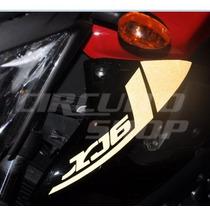 Adesivo Faixa Refletiva Moto Yamaha Xj6 2011 + Frete Grátis