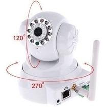 Camera Noturna Com Pan Tilt(controle Pelo Celular)