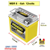 Bateria Para Moto Honda Pcx 150 6 Amperes