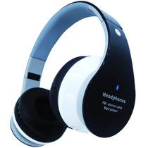 Fone De Ouvido Headphone Sem Fio Micro Sd Usb Fm Bluetooth
